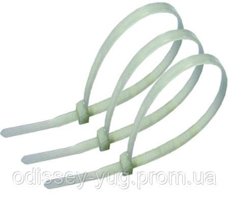 Кабельные хомуты  ЗМ™ Scotchflex™ FS 360 С-С (360 мм. х 4,5 мм.) пластиковые стяжки. Белый., фото 1