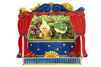 Тканевая кукла goki 15418g-2 Уточка для пальчикового театра