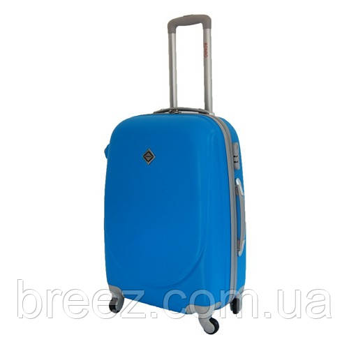 Чемодан на колесах Bonro Smile большой голубой