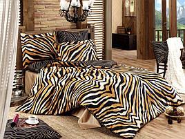 Комплект постельного белья двуспальный-евро Majoli Bahar teksil Bengal v1 B08