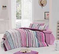 Комплект постельного белья двуспальный-евро Majoli Bahar teksil Vanessa v2 B08
