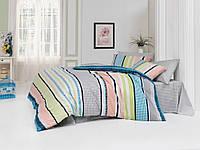 Комплект постельного белья двуспальный-евро Majoli Bahar teksil Vanessa v4 B08