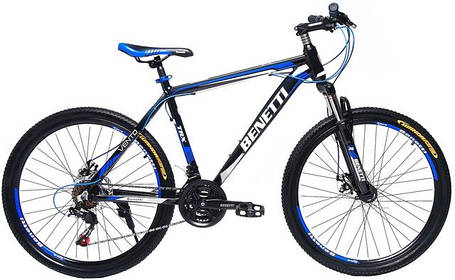 Горные велосипеды benetti