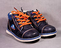 """С 21 р - по 25 р - детские демисезонные ботинки на мальчика """"Машинка"""""""