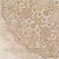 Плитка декорир. (60x60) UNIKA TRAVERTINO BEIGE ROSONE LAPPATO 7324095