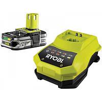 Аккумулятор+зарядное Ryobi RBC18L25 ( 1 аккумулятор 2,5 А/ч)