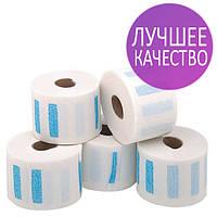 Воротнички для парикмахерских эластичные Panni Mlada 5 ролов в уп. белый