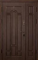 Двери бронированные Арка Темный орех винорит