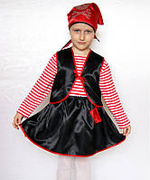 Детский карнавальный новогодний  костюм Пират Девочка
