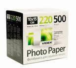 Фотобумага Videx HGA6 220/500 глянцевая