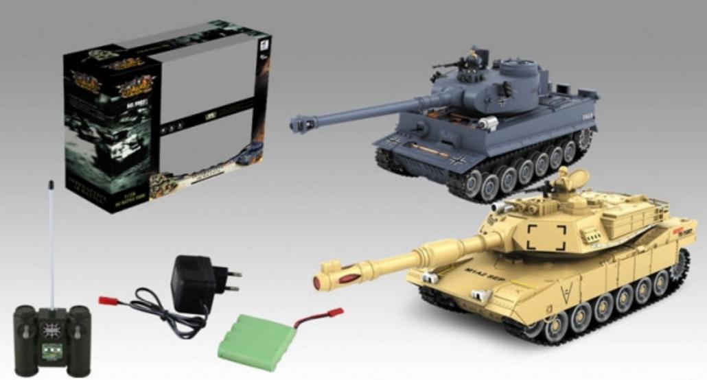 Боевой танк на радиоуправлении 99822