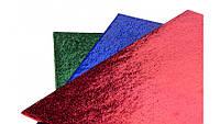Фольга для упаковки подарков 50*70 см ,уп 50 шт, 4 цвета