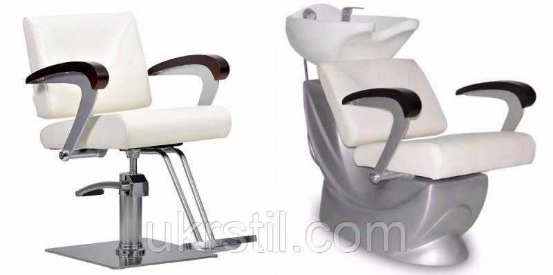 Комплект парикмахерской мебели Kubik