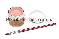 Гель для наращивания ногтей ALL SEASON,(камуфляж персиковый) №2, 60 гр, фото 1