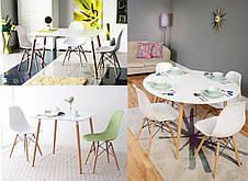 Обеденный стол в скандинавском стиле квадратный  Z-208 NOLAN II  Евродом, цвет белый, фото 3