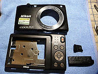 Корпусные части с крышкой А.К.Б. на NIKON S3300.