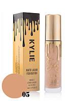 Тональный крем Kylie Matte Liquid Foundation №5 (реплика)