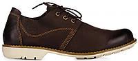 Мужские туфли Timberland Men's Earthkeepers Oxford Shoe Brown (Тимберленды) коричневые