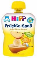 8520-02 HIPP Фруктове пюре «Яблуко-Груша-Банан», 100г