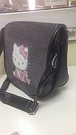 Сумка на плечо Hello Kitty черная
