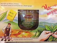 Чай Lipton 100 пакетов+чашка в подарок