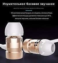 Блютус наушник со встроенным микрофоном и регулятором громкости,доставка из Китая