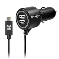 Автомобильное зарядное устройство Promate Procharge-C Black