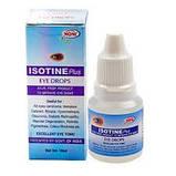 Айсотин Плюс  (Isotine Plus) глазные капли, восстановление зрения, усиленная формула, Индия,10 мл, фото 3