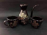 Глазурованый кофейный набор Coffee