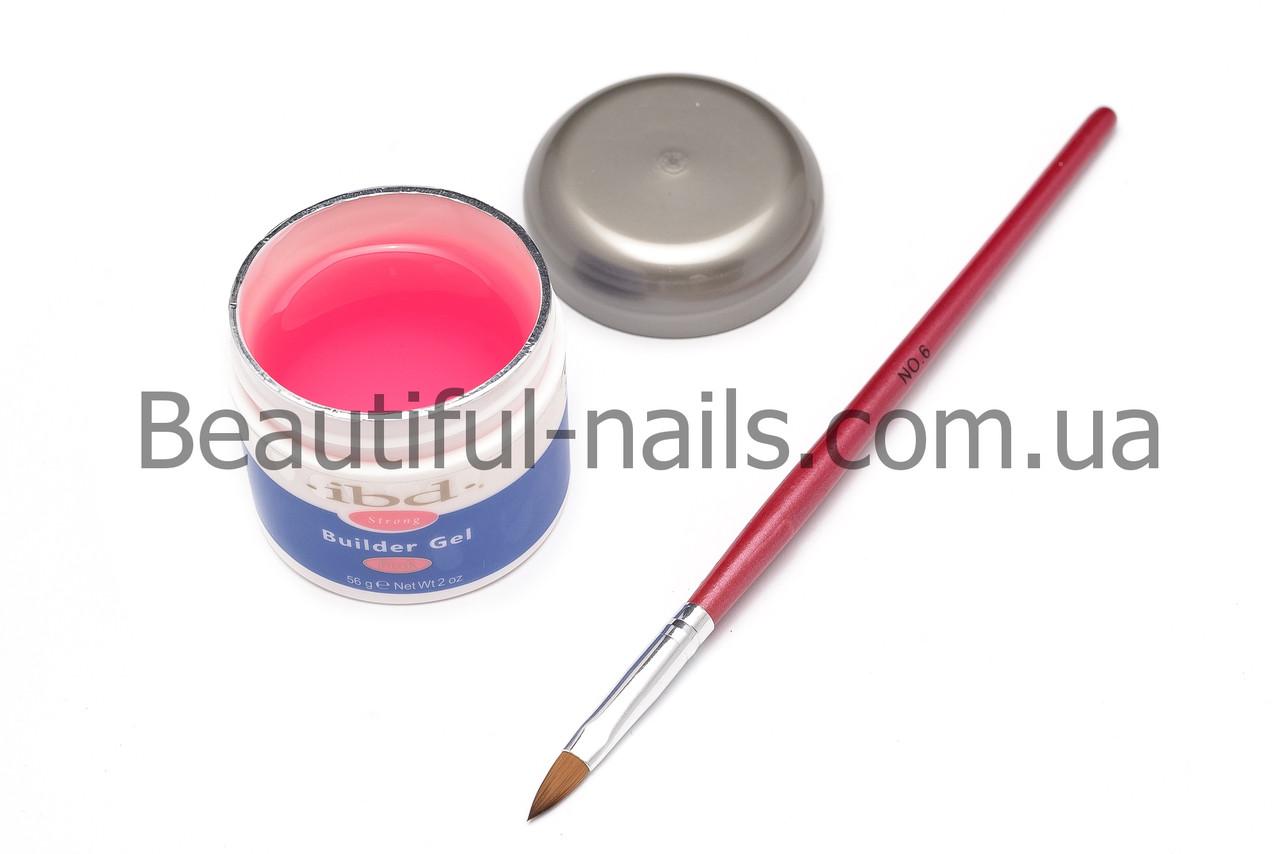 Гель для наращивания ногтей, IBD (розовый) , 56 гр