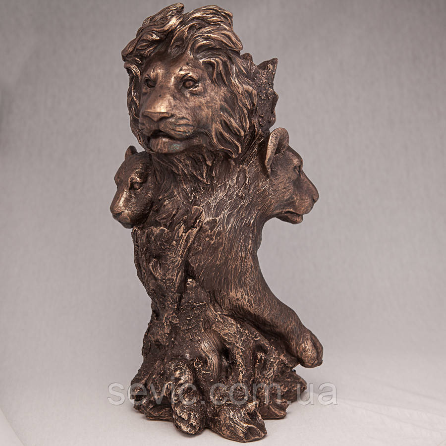 Ваза Veronese Львы Прайд 32 см