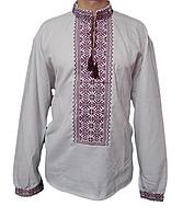 """Чоловіча вишита сорочка """"Нотем"""" (Мужская вышитая рубашка """"Нотем"""") SN-0020"""
