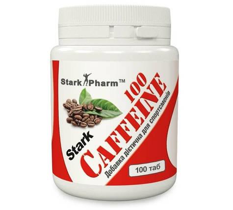 Кофеїн Caffeine 100 mg - 100 caps, фото 2
