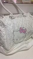 Детская сумочка Hello Kitty белая