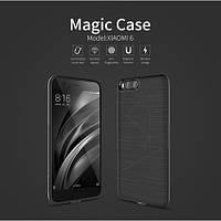 Чехол накладка для беспроводной зарядки Qi Nillkin Magic для Xiaomi Mi 6 черный