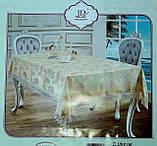 Кухонні скатертину декорована мереживом, багата колірна гамма, 120х160 див., 265/225 (ціна за 1 шт. + 40 гр.), фото 2