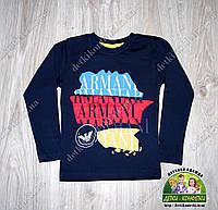 Кофточка трикотажная для мальчика Armani Jeans темно-синяя