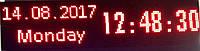 Бегущая строка КРАСНАЯ Led светодиодная 32х96 IP65
