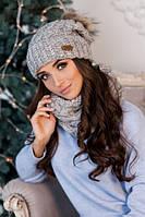 Жіночі комплекти (шапки, шарфи, рукавички)