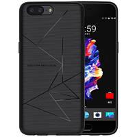 Чехол накладка для беспроводной зарядки Qi Nillkin Magic для OnePlus 5 черный