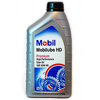 Масло трансмиссионное MOBIL 80W-90 HD 1л.