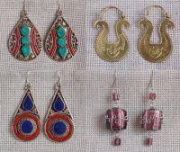 Серьги из Индии и Непала