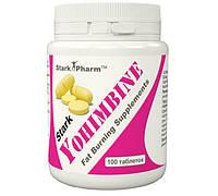Stark Yohimbine 10 мг 100 таб (жироспалювач проблемних зон)
