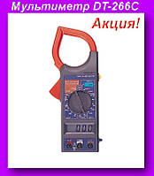 Мультиметр DT-266C,DIGITAL DT-266C цифровой мультиметр токоизмерительные клещи!Акция