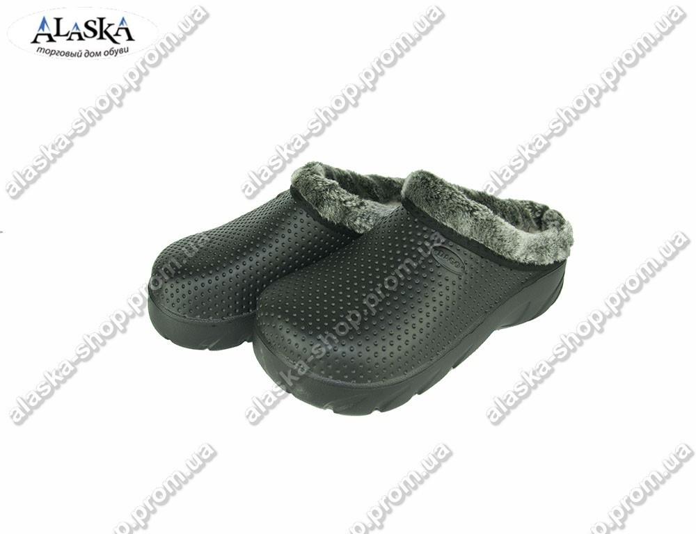 Женские галоши (Код: С-232 черный)