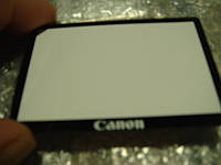 Защитное стекло дисплея  Canon 550D