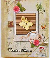 Фотоальбом 9166 (200ф 10Х15) подарочный в коробке