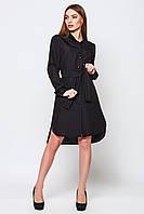 Платье женское Евгения черный Повседневное платье, Leo Pride, 42, Молодежный, Украина