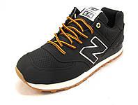 Кроссовки мужские New Balance 574  черные (р.42,43,44,45)