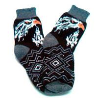 Вязаный носок, фото 1